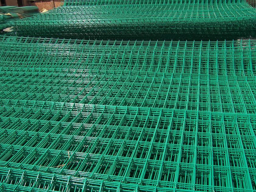 Galvanised Welded Wire Mesh Panels Flat Bend