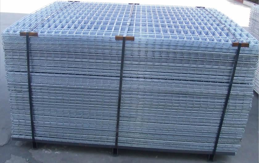 Bs 4360 Grade 43a Galv Welded Mesh Panels For Flooring