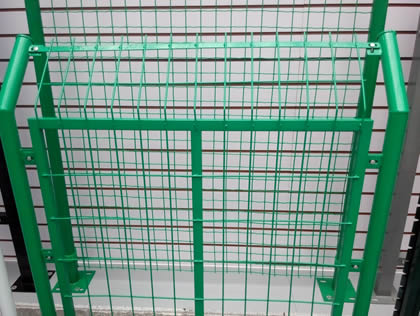 Pvc Coated Welded Wire Fence Panels For Goats Rodent
