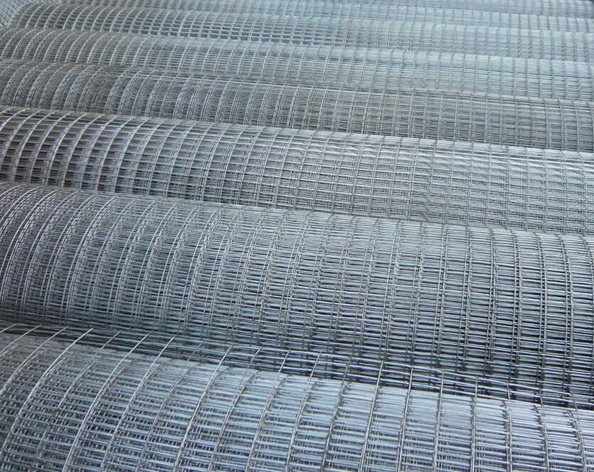 Galvanised Welded Wire Mesh and Plastic Mesh Offered