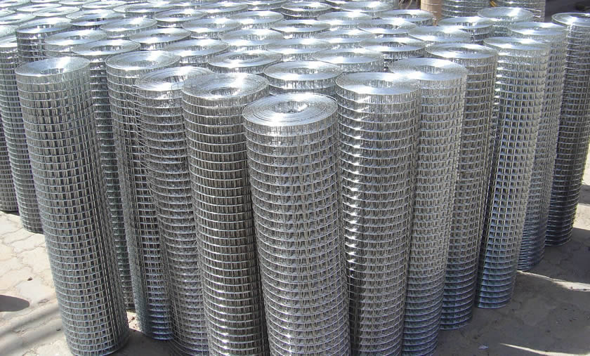 Hdg Pvc Coated Electro Galvanized Welded Wire Mesh