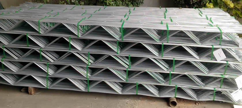 Galvanized After Welding Block Mesh Ladder Mesh Truss Mesh