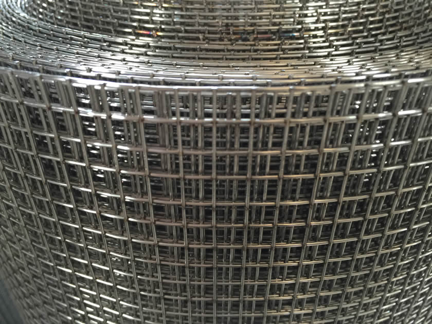 Galvanzied Pvc Coated Ss 304l Welded Wire Mesh