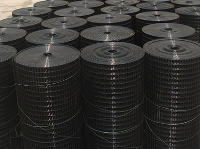 PVC Wire & PVC Coated Wire Mesh - Black or Green