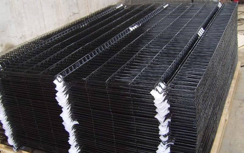 Pvc Coated Welded Mesh Panels For Garden Fencing Security