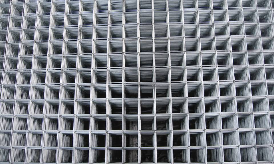 Gbw And Gaw Types Welded Mesh Panels In Ceiling Workshops