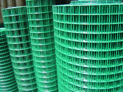 40 Amp Wire Size >> PVC Wire & PVC Coated Wire Mesh - Black or Green