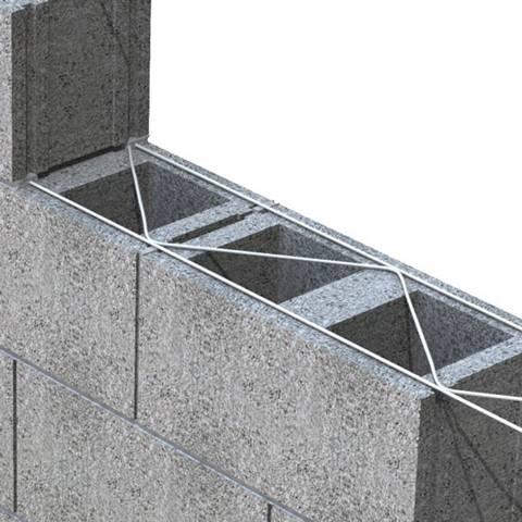 Masonry Wall Reinforced Mesh Ladder Mesh Amp Truss Mesh