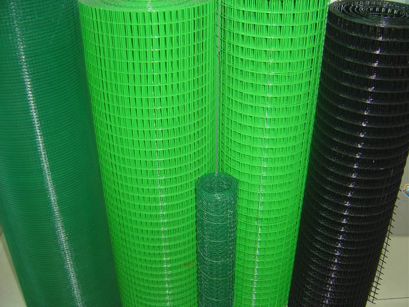 50 Amp Wire Size >> PVC Wire & PVC Coated Wire Mesh - Black or Green