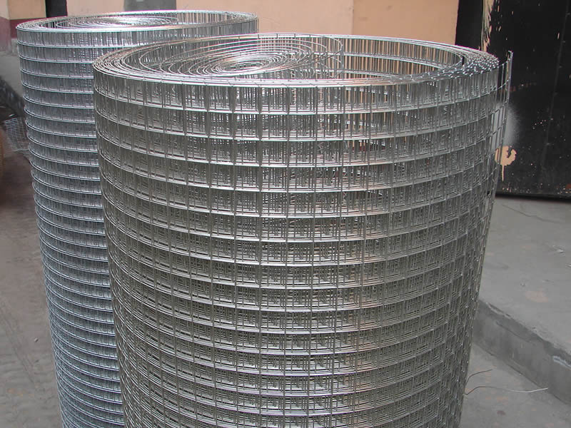 Square wire mesh netting electro galvanized finish